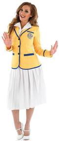 Ladies Holiday Camp Hostess Fancy Dress Costume