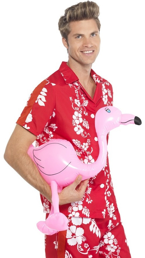 bfab38421d5c7 Inflatable Pink Flamingo Party Prop - Fancy Me Limited