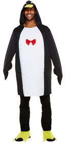 Adult Penguin Fancy Dress Costume