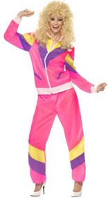 Ladies 80s Shell Suit Fancy Dress Costume