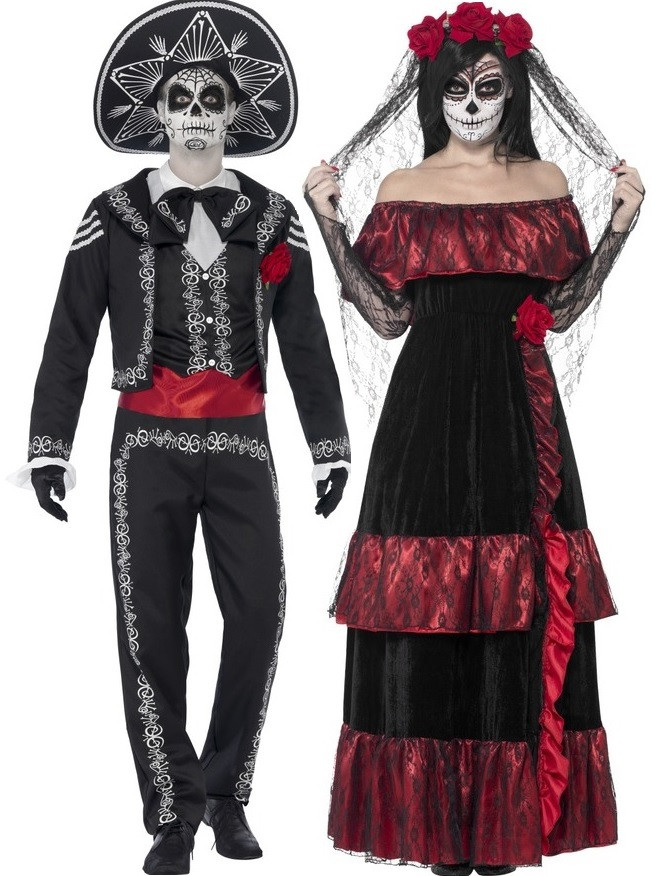 ca3aa8b06061 Couples Day of the Dead Costumes - Fancy Me Limited