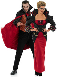 Couples Vampire Fancy Dress Costumes