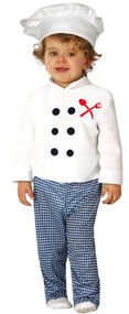 Baby Chef Fancy Dress Costume
