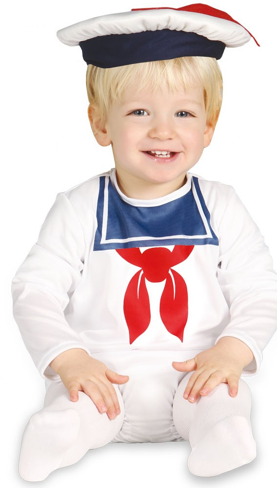 74156c446 Baby Boys White Sailor Fancy Dress Costume - Fancy Me Limited