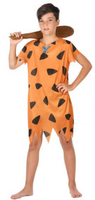 Boys Caveman Fancy Dress Costume