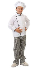 Child's Chef Fancy Dress Costume 2