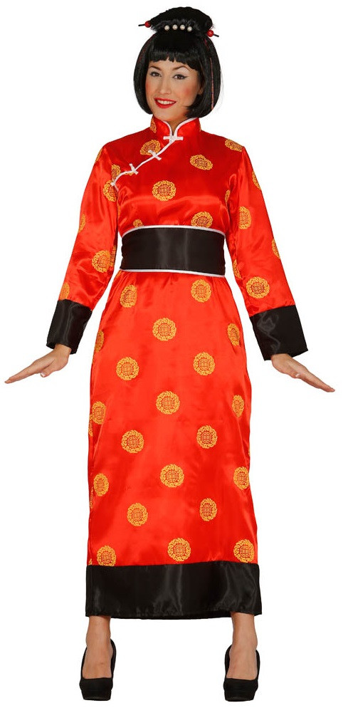 79350c344 Ladies Red Chinese Fancy Dress Costume - Fancy Me Limited
