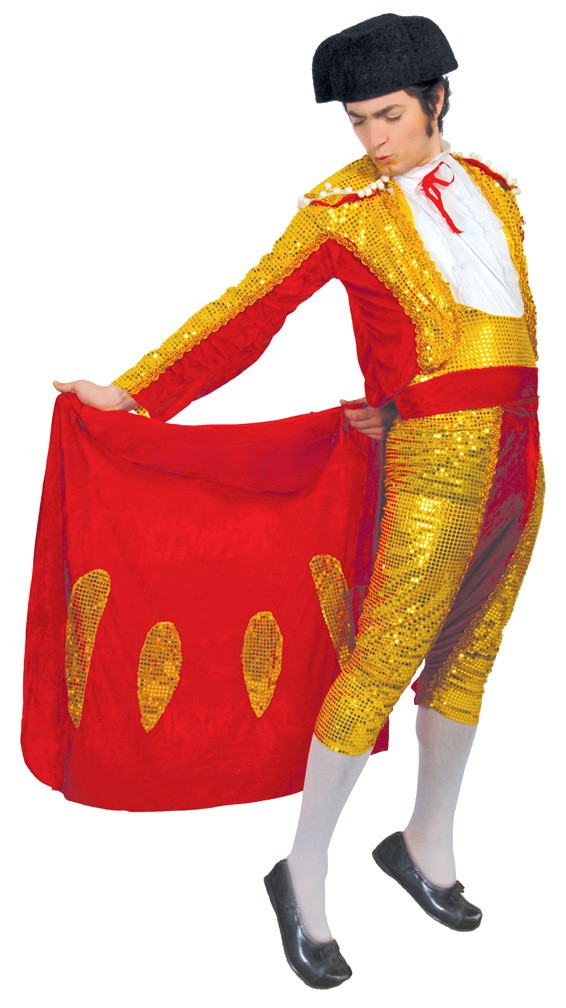 Mens Sequinned Matador Fancy Dress Costume - Fancy Me Limited 6a339d2b6445