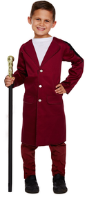 Boys Chocolate Man Fancy Dress Costume