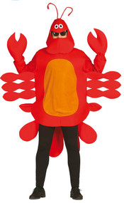 Adult Lobster Fancy Dress Costume