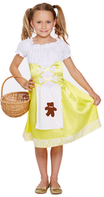 Girls Porridge Stealer Fancy Dress Costume