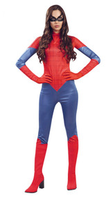 Ladies Spider Hero Fancy Dress Costume 2