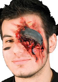 Adult Hockey Accident Halloween Special Effect
