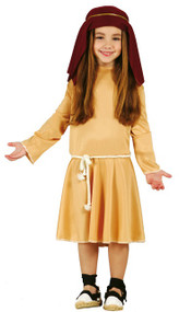 Girls Shepherd Fancy Dress Costume