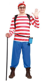 Mens Tourist Fancy Dress Costume