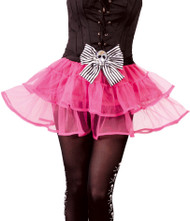 Ladies Pink Pirate Tutu Skirt
