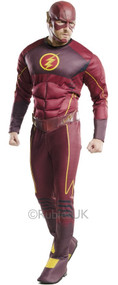 Mens Deluxe Flash Fancy Dress Costume