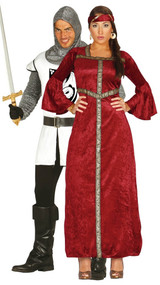 Couples Medieval Fancy Dress Costumes