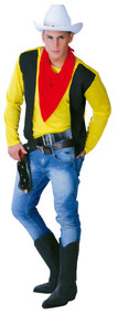 Mens Gunslinger Fancy Dress Costume