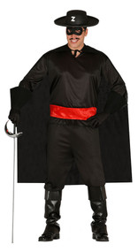 Mens Bandit Fancy Dress Costume