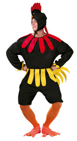 Adult Rooster Fancy Dress Costume