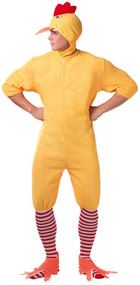 Adult Duckling Fancy Dress Costume