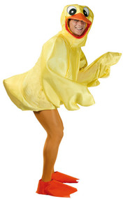 Adult Rubber Duck Fancy Dress Costume