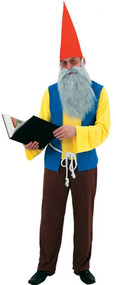 Mens Grumpy Gnome Fancy Dress Costume