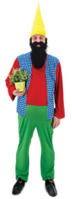 Mens Doc Gnome Fancy Dress Costume
