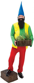 Mens Bashful Gnome Fancy Dress Costume