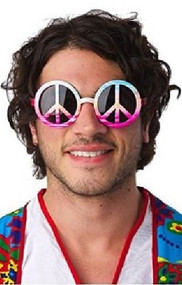 Adult Peace Sign Sunglasses
