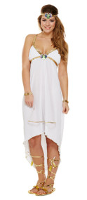 Ladies Egyptian Princess Fancy Dress Costume