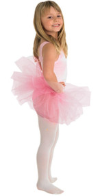 Girls Pink Fancy Dress Tutu