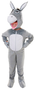 Boys Big Head Donkey Fancy Dress Costume