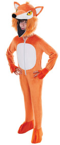Child's Big Head Fox Fancy Dress Costume