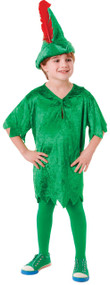 Boys Deluxe Peter Pan Fancy Dress Costume