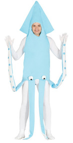 Adult Giant Squid Fancy Dress Costume