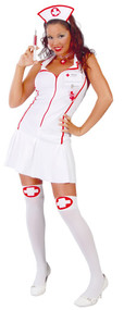 Ladies Intensive Care Nurse Fancy Dress Costume
