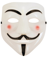 Adult White Halloween Mask