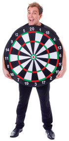 Mens Dart Board Fancy Dress Costume