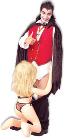 Mens Down the the Count Fancy Dress Costume