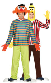 Couples Puppet Men Fancy Dress Costume