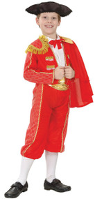Boys Matador Fancy Dress Costume