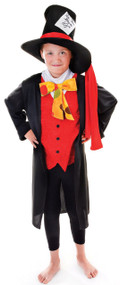 Boys Mad Hatter Fancy Dress Costume 2