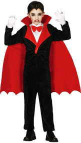 Boys Count Vamp Fancy Dress Costume