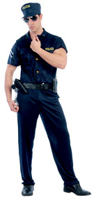 Mens Special Agent Fancy Dress Costume
