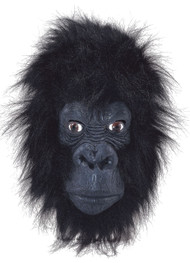 Adult Gorilla Fancy Dress Mask