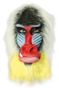 Adult Baboon Fancy Dress Mask