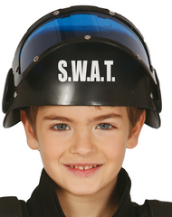 Boys SWAT Fancy Dress Helmet
