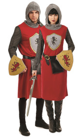 Couples Kings Knight Fancy Dress Costumes
